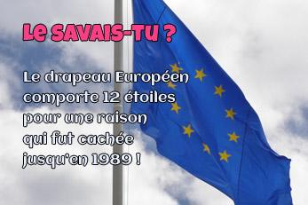 LE SAVAIS-TU ? : Le drapeau Européen