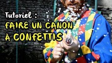 Activité manuelle : lance confettis pour le carnaval