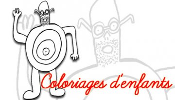 Coloriage Barbe Boulle