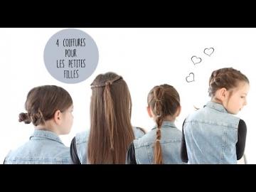 4 tutoriels de coiffures faciles et originales pour les filles et leur maman