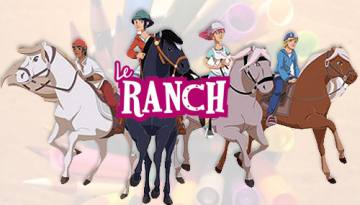 Coloriages dessin animé Le Ranch