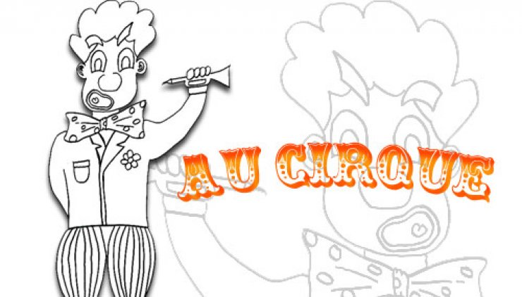 Coloriage du clown Tagada