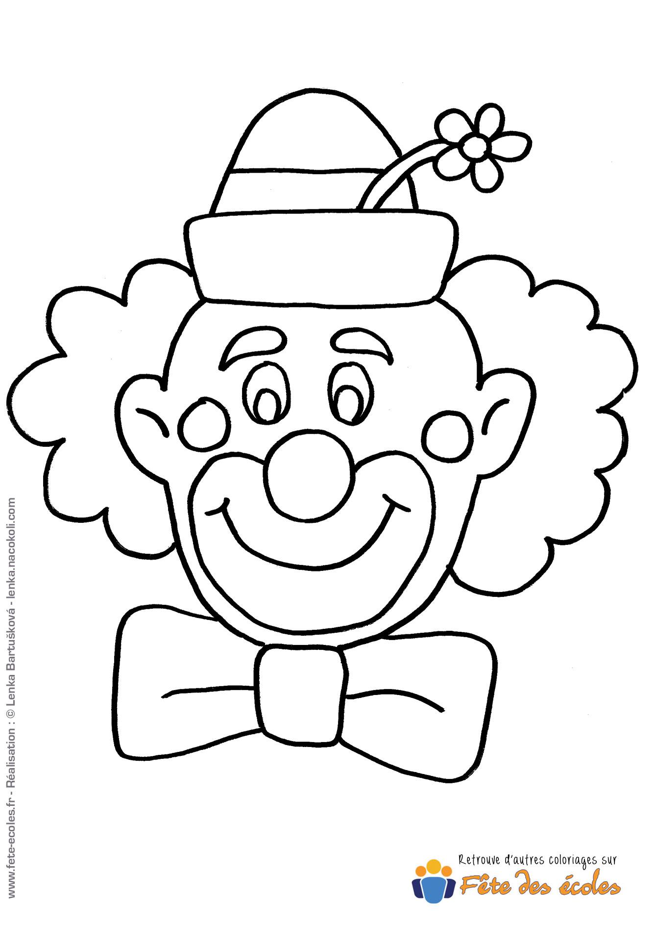 Awesome coloriage tete de clown unique coloriage tete de - Tete de clown a imprimer ...