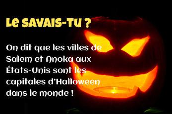 LE SAVAIS-TU ? : Halloween et les capitales