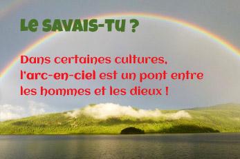 LE SAVAIS-TU ? : Les Arcs-en-ciel