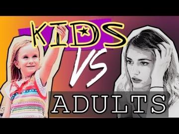 Enfants contre Adultes