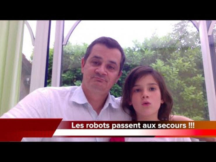 Un père et sa fille font l'actualité